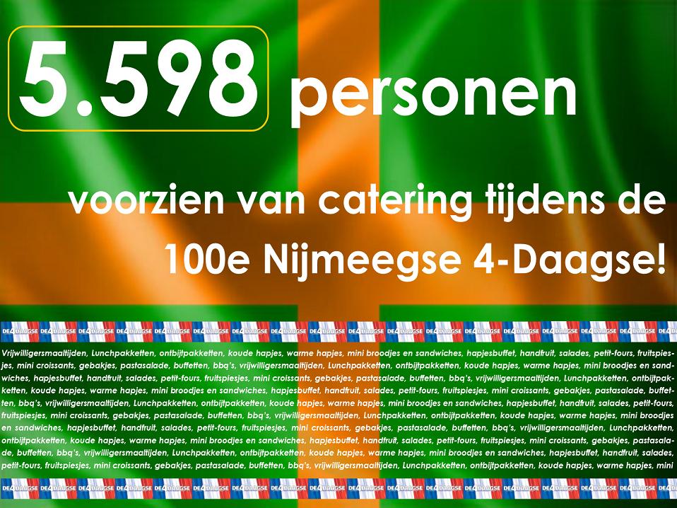 Poster 5.598 personen voorzien - website